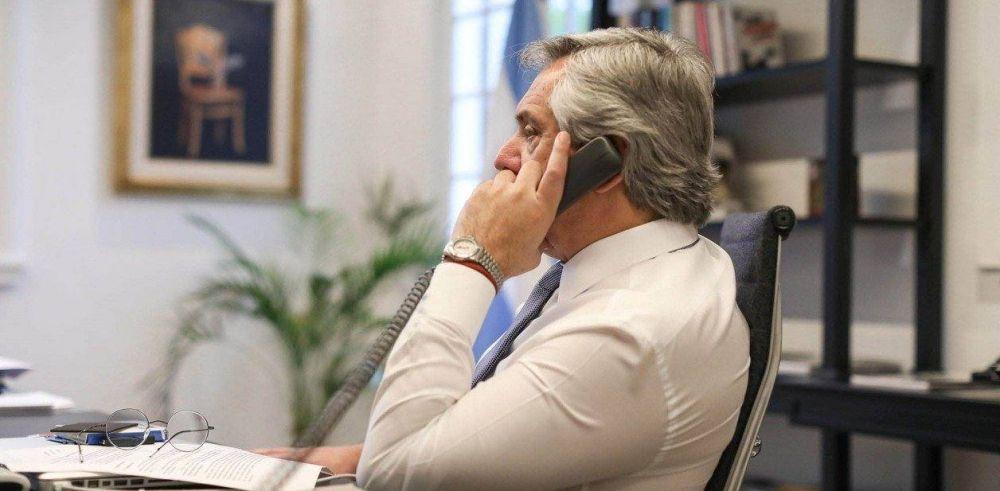 """Alberto Fernández dijo que """"no queda otro camino"""" que expropiar Vicentin si el juez rechaza el plan de Perotti"""