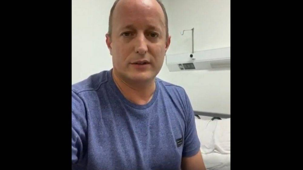 Martín Insaurralde mejora tras recibir transfusión de plasma