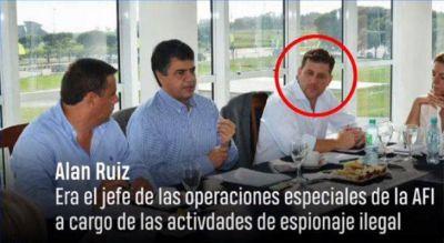 Exespía Alan Ruiz, el primer detenido en la causa de espionaje M