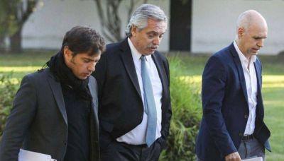 Alberto convocó a Axel y Larreta para estudiar el regreso del AMBA al aislamiento total