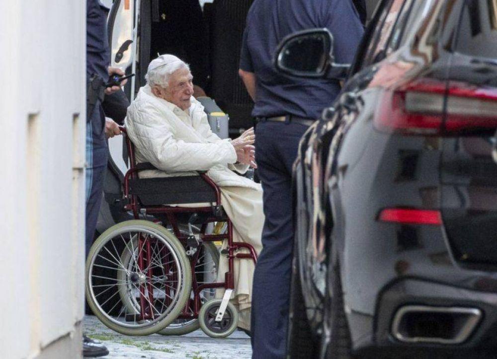 En el ocaso de su vida, el Papa Benedicto XVI hizo un emotivo viaje a Alemania
