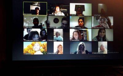 En cuarentena, más platenses se enganchan a los cursos virtuales