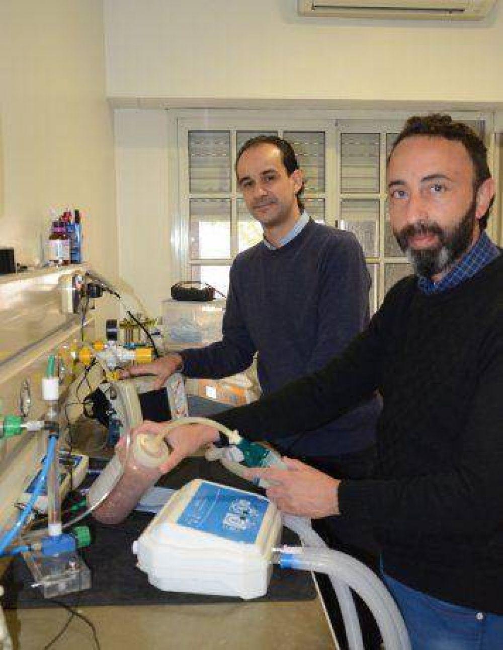 Innovación local: crean dispositivo que ventila a dos pacientes a la vez