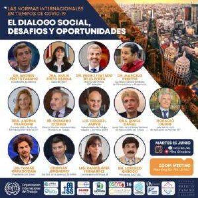 La OIT realiza encuentro virtual sobre Diálogo Social y Tripartismo