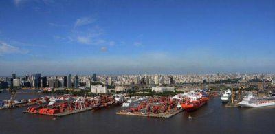 Paraliza al puerto de Buenos Aires un conflicto gremial que amenaza extenderse