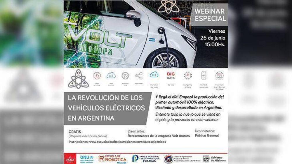 Misiones hacia un futuro tecnológico sustentable: vehículos 100% eléctricos