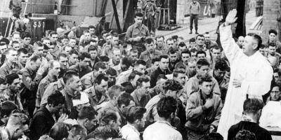 Dios también se hizo presente durante el desembarco de Normandía