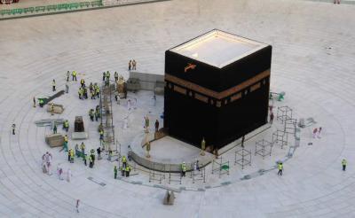 La Meca: Podrán peregrinar sólo quienes ya estén en Arabia