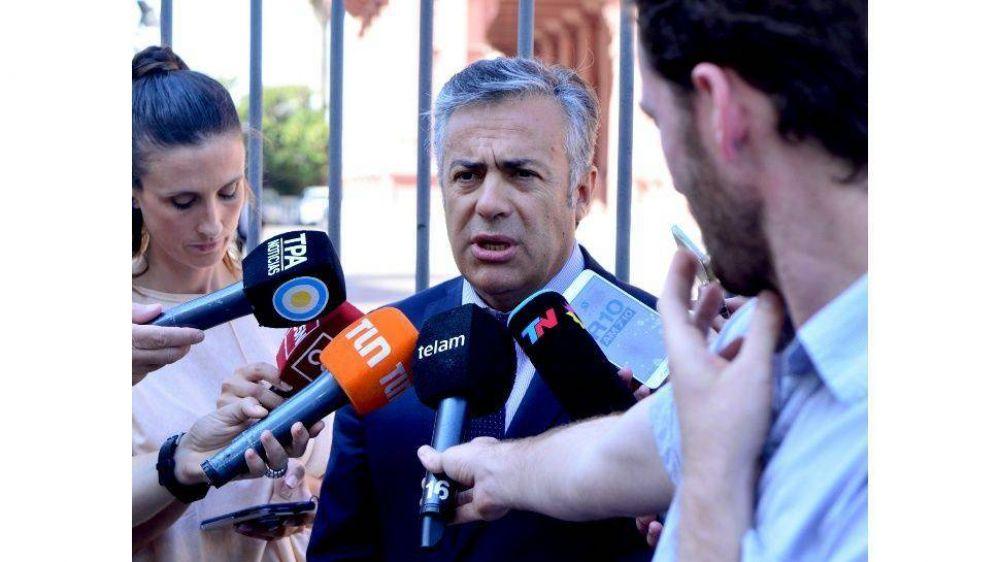 Cornejo rompió la paz en Juntos por el Cambio y apuntó a Macri y a Rodríguez Larreta