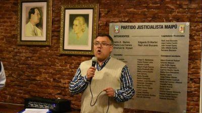 """Rubén Araujo: """"Seguimos trabajando pensando en el futuro del Partido Justicialista y la provincia de Buenos Aires"""""""