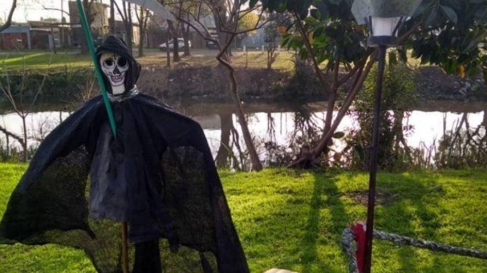 San La Muerte OPDS: Protesta por la contaminación de coque y la connivencia de Kicillof