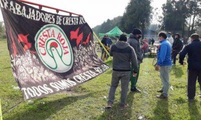 Cresta Roja: trabajadores van por una cooperativa y piden apoyo del Gobierno