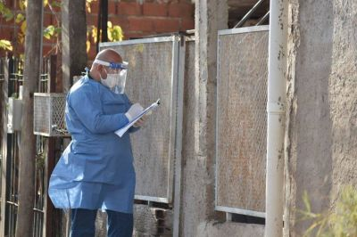 Coronavirus en municipios del oeste:  Conocé qué porcentaje de la población tiene el virus
