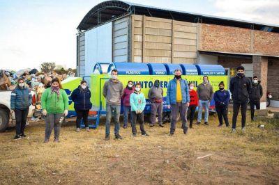 Avanza el tratamiento de residuos en Macachín