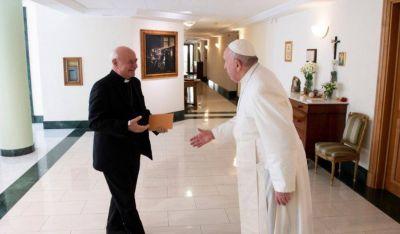 El Instituto Juan Pablo II presenta su nuevo plan de estudio al Papa Francisco