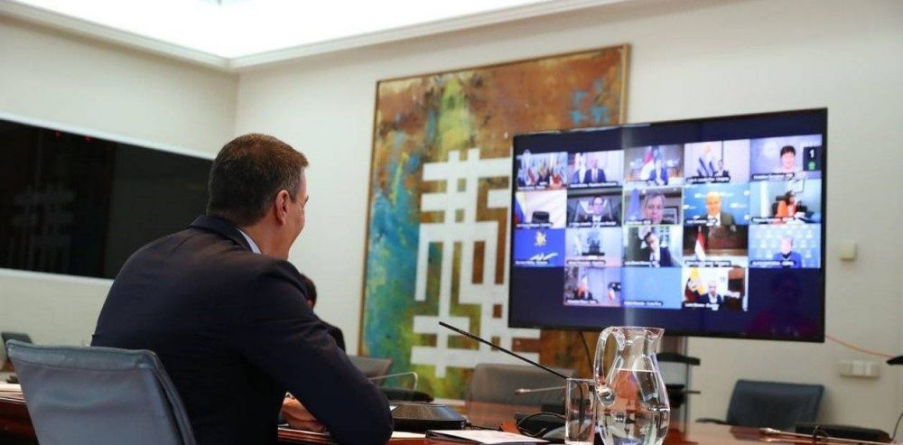 """Alberto Fernández pidió """"un marco general de reestructuración de deuda"""" ante presidentes de la región y la jefa del FMI"""