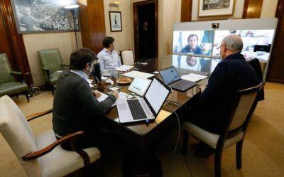 Kicillof recibió el apoyo de los intendentes en la profundización de las restricciones durante la cuarentena
