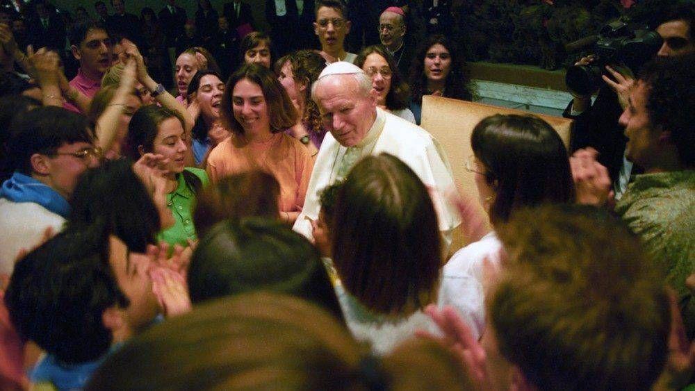 """Hace 31 años Juan Pablo II visitó la """"Ciudad de la Inmaculada"""", Gaeta, Italia"""