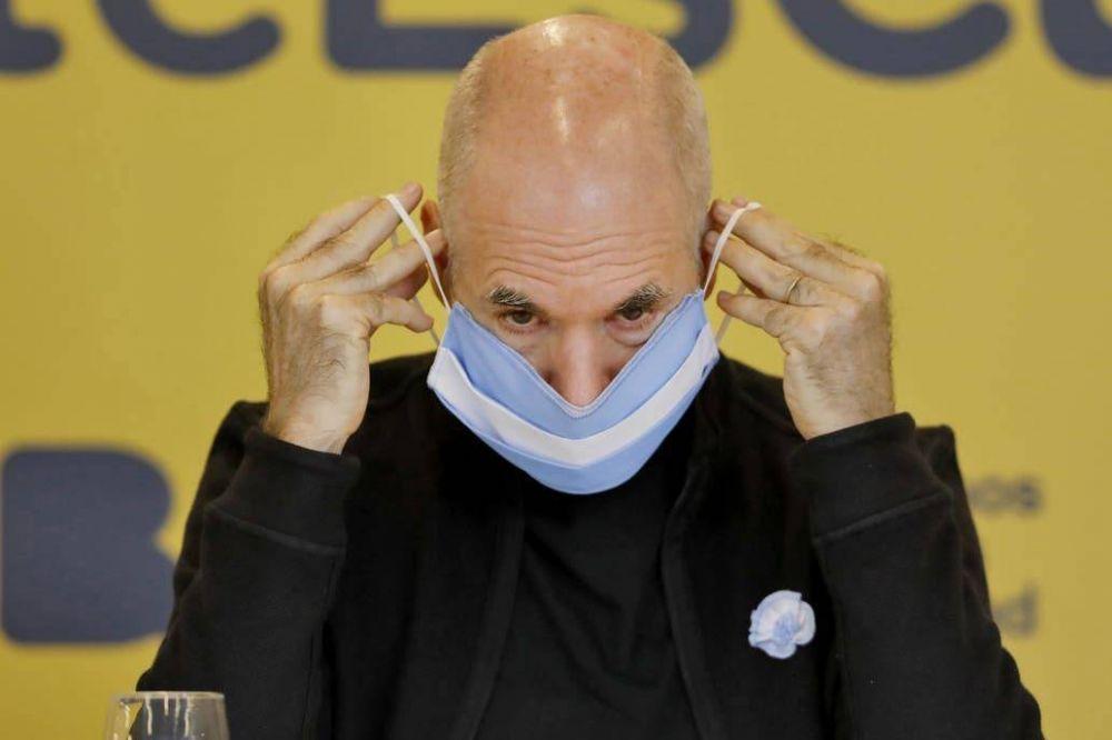 Horacio Rodríguez Larreta acepta endurecer ahora la cuarentena, pero no quiere ceder con las salidas de niños