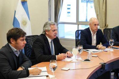 Cuarentena: Alberto Fernández citó a Kicillof y a Rodríguez Larreta para definir las nuevas restricciones