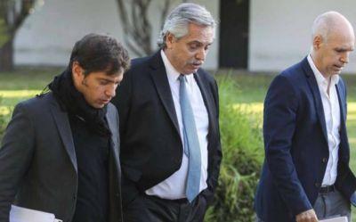 """Un """"re truco"""" de última hora: Larreta, Kicillof, Alberto y las negociaciones detrás del fallido anuncio desde Olivos"""