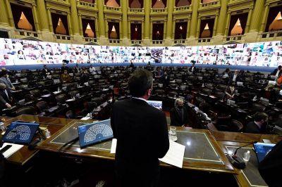 Bloques minoritarios fustigaron al FdT y a JxC por el funcionamiento de la Cámara baja