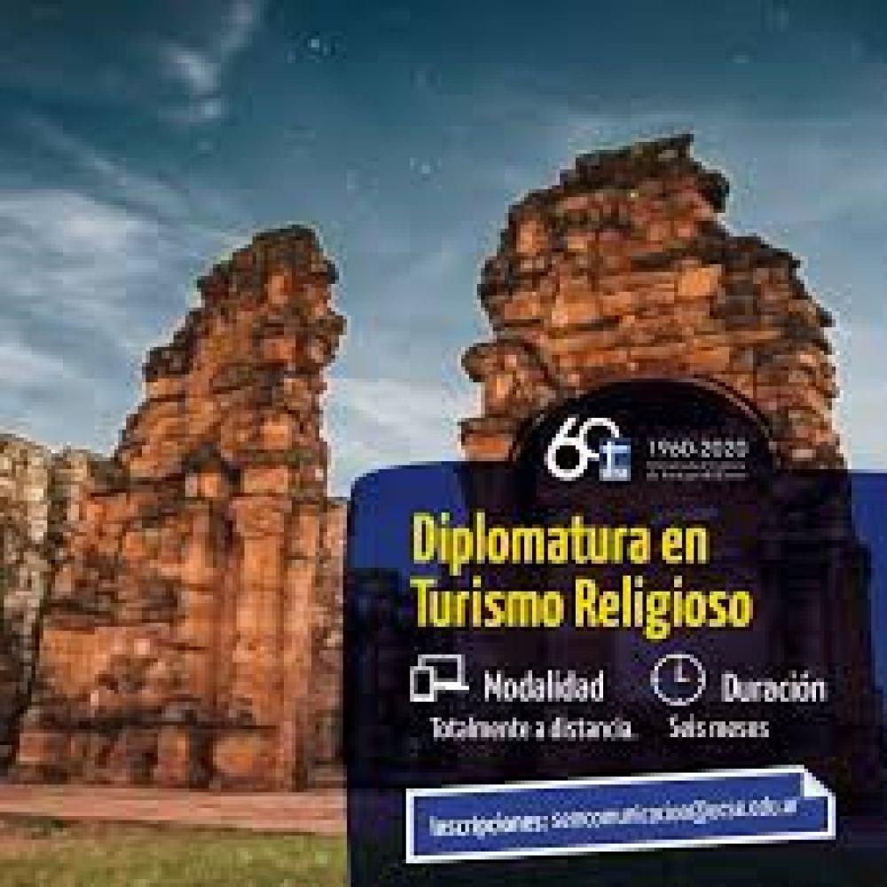 Inscriben en la Diplomatura Universitaria en Turismo Religioso