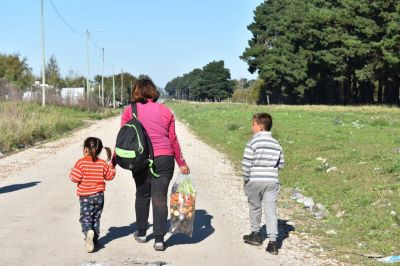 Entregaron refuerzos alimentarios en Mar del Plata