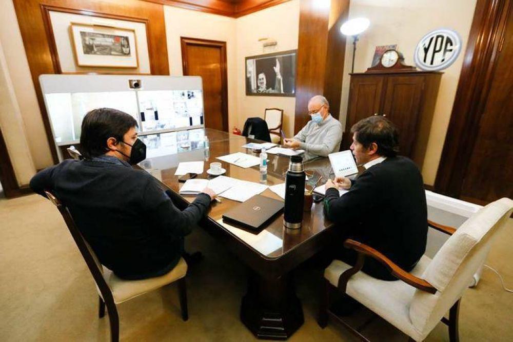 Kicillof logró alinear a los intendentes de Cambiemos