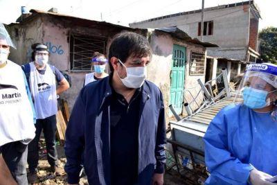 Hisoparon al Intendente de San Martín, Fernando Moreira y esperan el resultado para saber si tiene Coronavirus