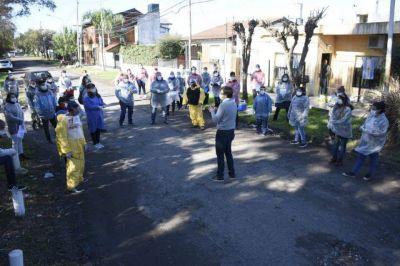 Se realizaron operativos de detección de Coronavirus en Barrio Santa Rosa de Castelar