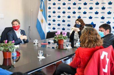 La Cruz Roja donó 100 termómetros al Municipio de Moreno