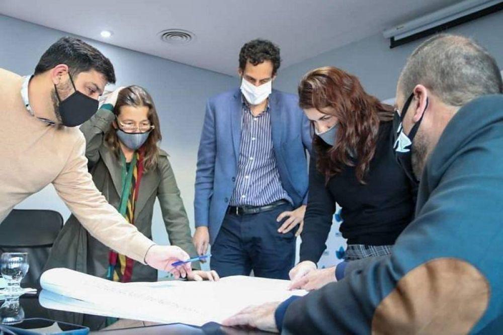 Frederic se reunió con Mariel Fernández para reforzar la seguridad en Moreno