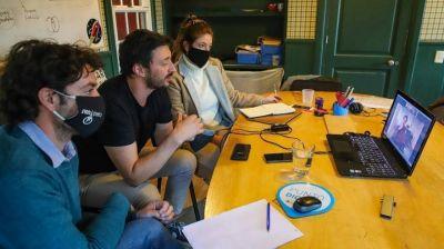 Yeza analizó con Lammens la reactivación turística post cuarentena