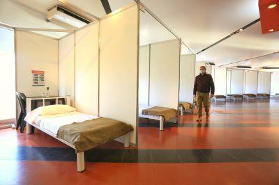 Fernando Gray inauguró un nuevo Centro de Aislamiento para Pacientes Sospechosos