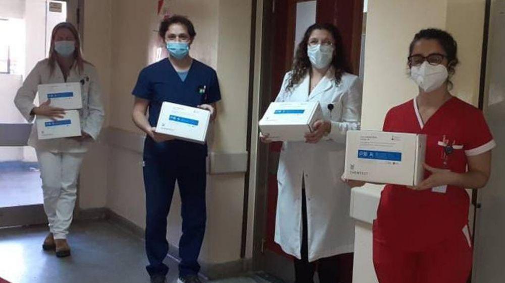 Hospitales públicos bonaerenses ya tienen test de diagnóstico rápido