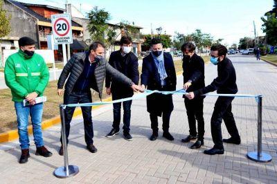 """Kicillof en Merlo: """"Hoy estamos proyectando y comenzando a construir la post pandemia"""""""