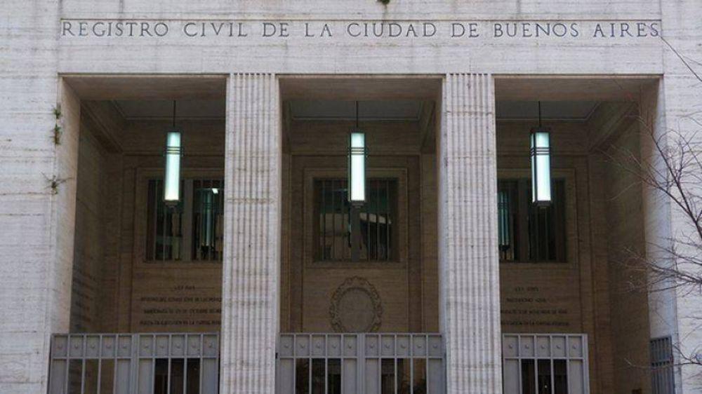 La Ciudad gastará $9 millones para recuperar la fachada del Registro Civil en la Comuna 1