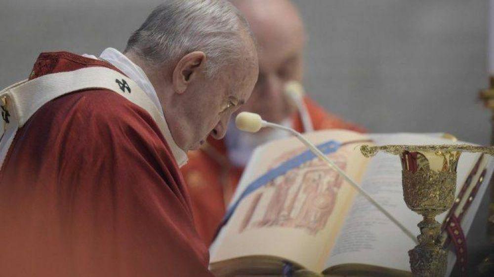 Homilía del Papa: Dios nos pide que seamos constructores de unidad