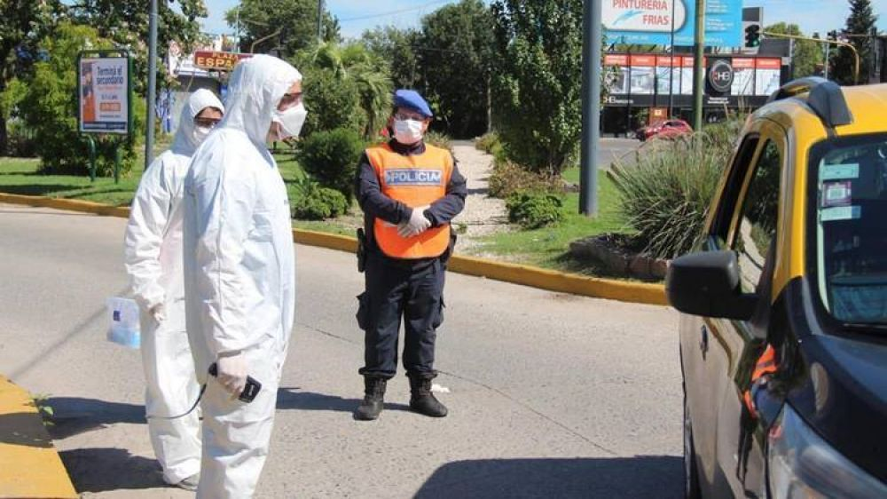 Preocupación de las autoridades por la suba de contagios de coronavirus entre las fuerzas de seguridad del área metropolitana