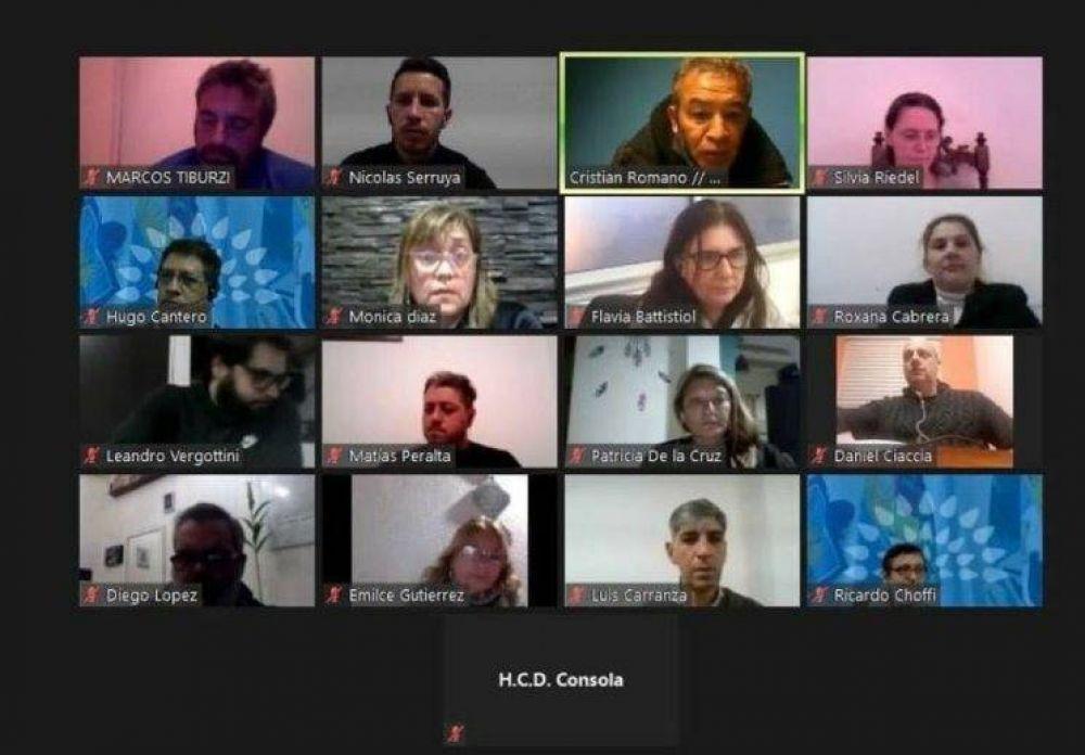 El HCD de Escobar realizará este Viernes su primer sesión virtual