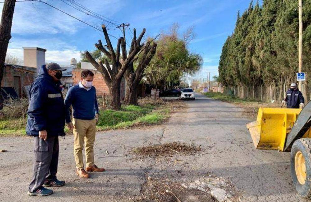 Realizan una limpieza integral en el barrio Don Francisco