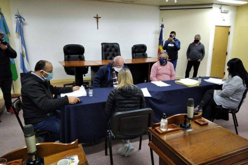 Sesionó el Concejo de La Matanza: Declararon de interés la donación de plasma