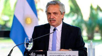Antes del inicio de la fase estricta de la cuarentena en el AMBA, Fernández pidió