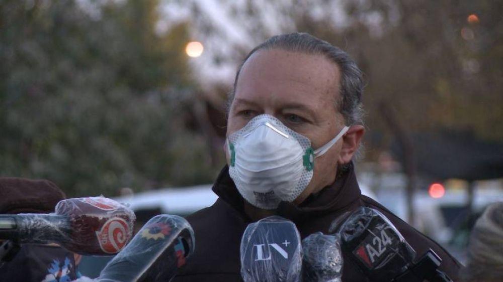 """Diálogo entre Berni y el jefe de operativo de la Federal: """"Pido premura, esto es un caos"""""""
