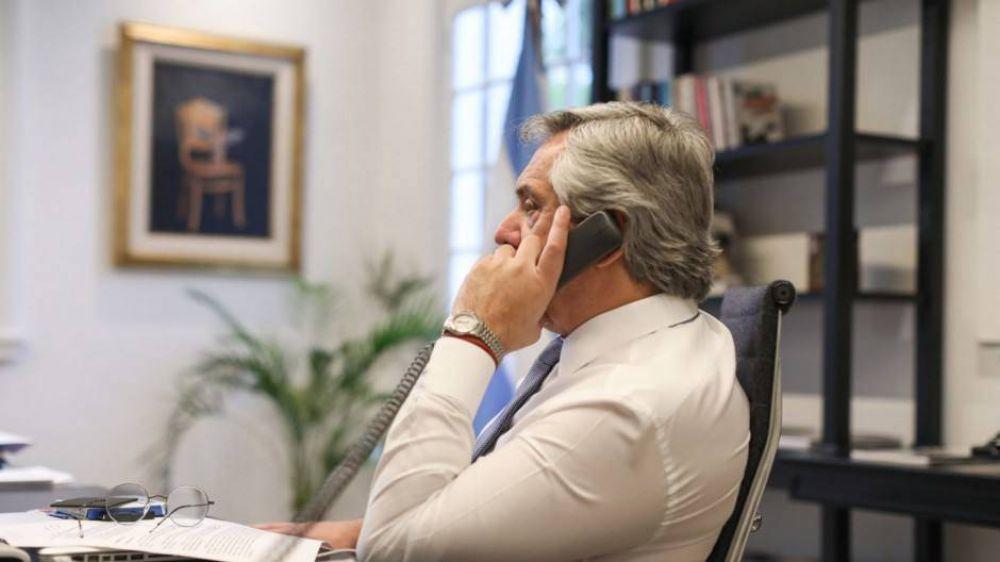 Preocupado por la recesión, Alberto lanza una moratoria fiscal para las empresas