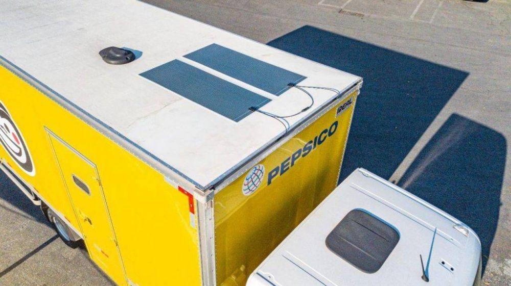Pepsico utiliza camiones solares en su flota de distribución en Brasil