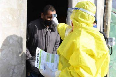 San Fernando y José C. Paz son los municipios con mayor ritmo de contagios de coronavirus