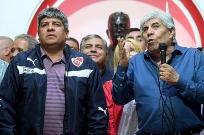 El doble juego de los Moyano: como empleadores, avanzan con una rebaja salarial en el plantel de Independiente