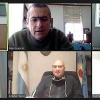 Katopodis en videoconferencia con intendentes de Cambiemos